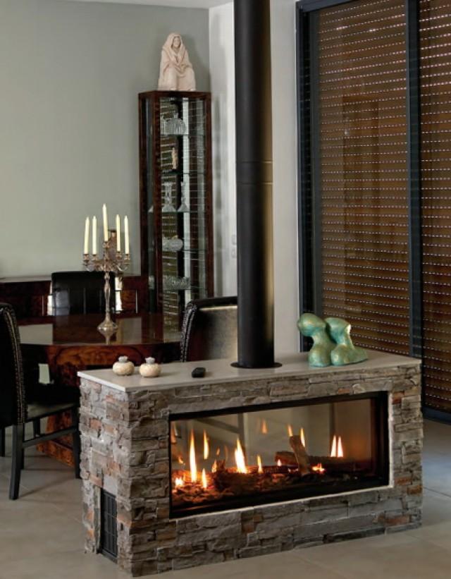 Modern Gas Stove Fireplace