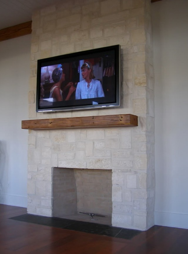 Mount Flat Screen Tv Over Fireplace