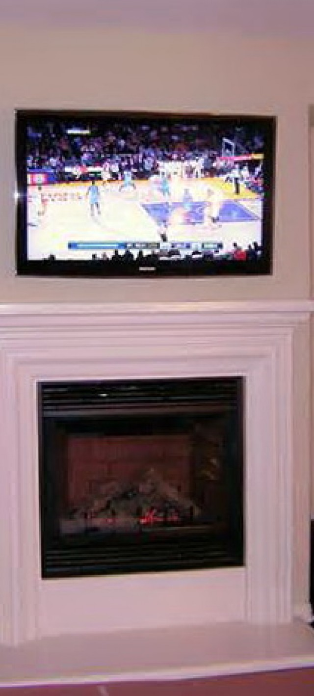 Hanging Tv Over Fireplace Without Studs Hanging Tv Wall