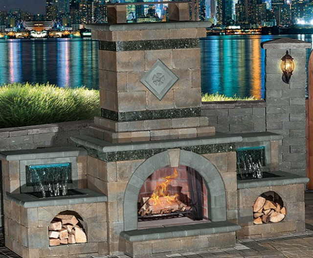 Do It Yourself House Plans: Do It Yourself Outdoor Fireplace Plans
