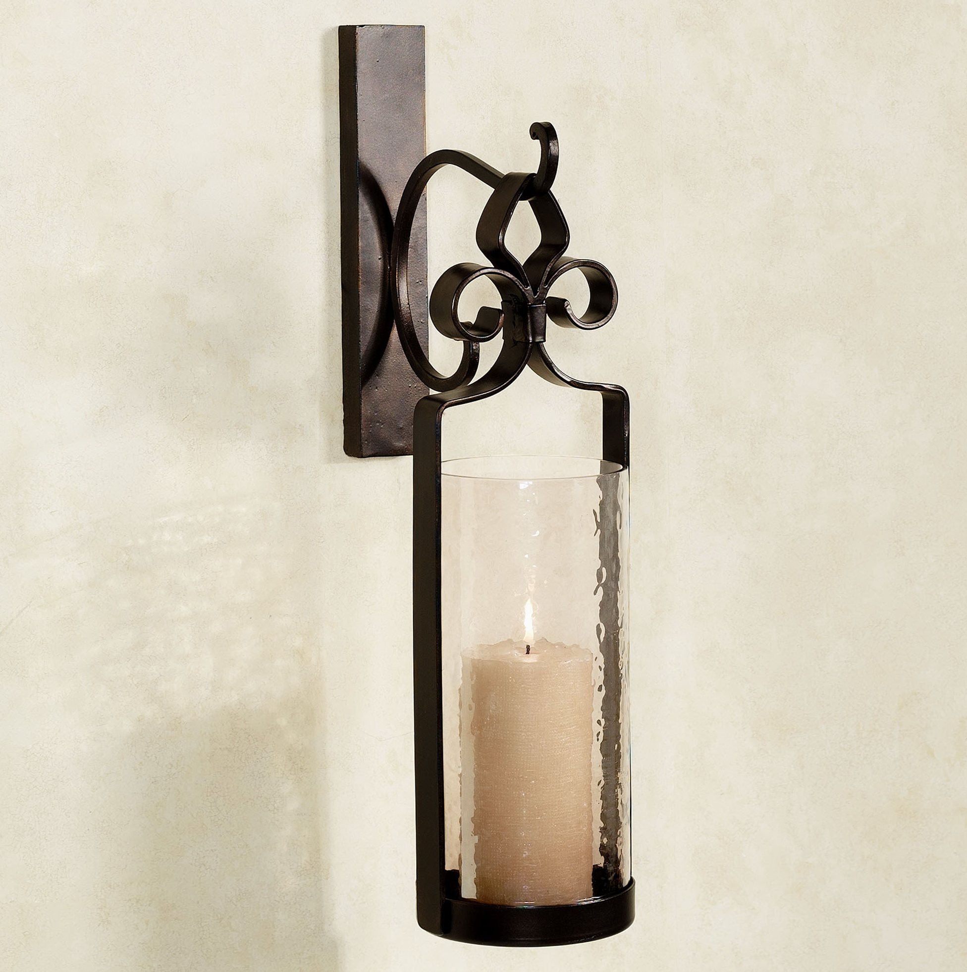 Wall Sconce Pillar Candle : Pillar Candle Sconces Wall Home Design Ideas