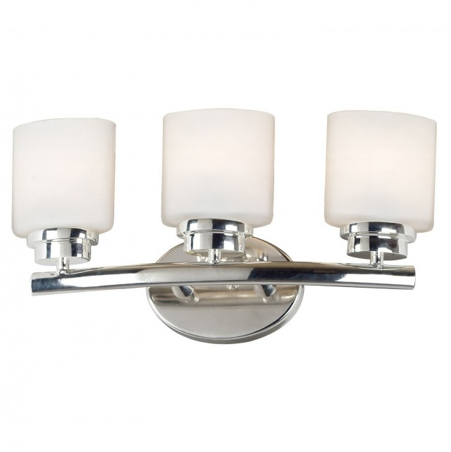 Polished Nickel Bathroom Sconces