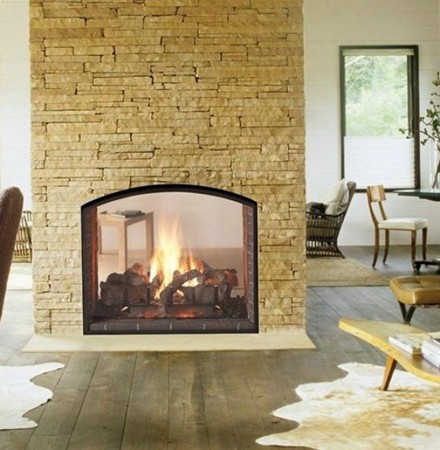 a ows two with your on fireplaces for bathroom tiny twoway way fireplace