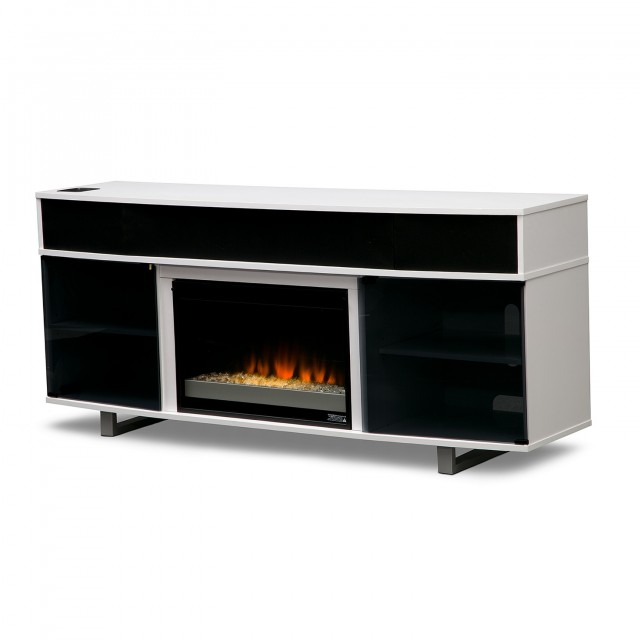 Tv Stand With Fireplace And Soundbar