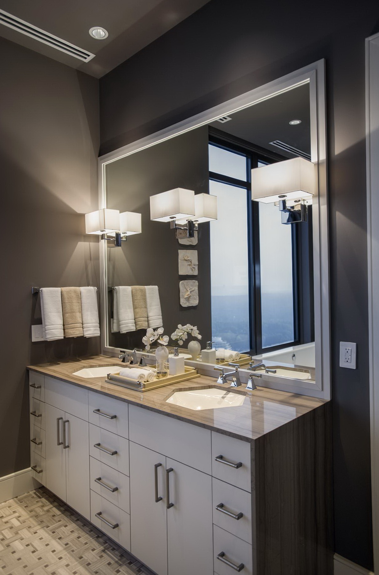 Bathroom Wall Sconces Height wall sconce height bathroom above sink | home design ideas