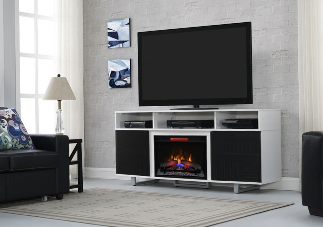 Entertainment Center With Electric Fireplace At Big Lots