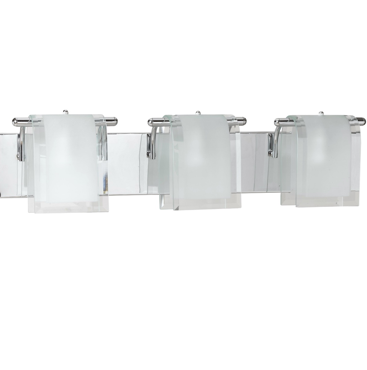 Permalink to White Glass Wall Sconce
