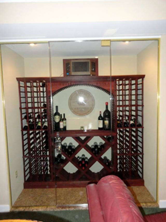 Wine Cellar Doors Glass
