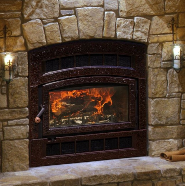 Two Way Wood Burning Fireplace Home Design Ideas