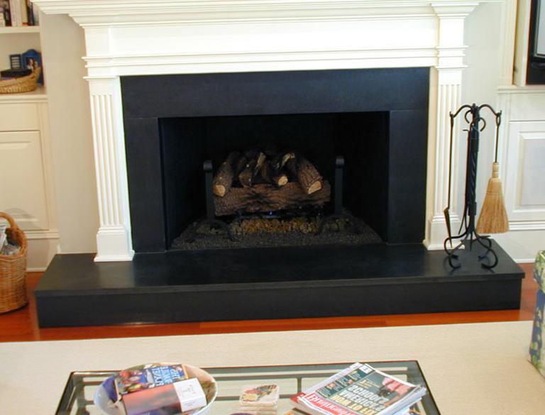 Absolute Black Granite Fireplace Surround | Home Design Ideas