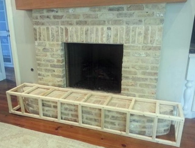 Brick Fireplace Baby Proofing Home Design Ideas