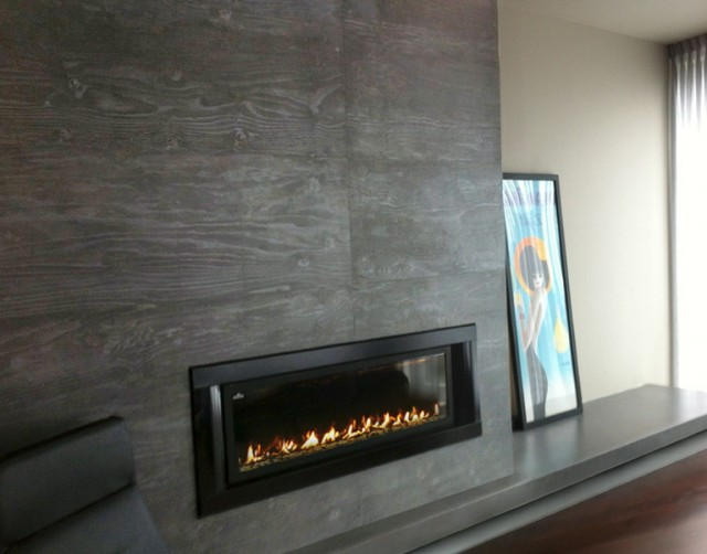 Concrete Fireplace Surround Diy | Home Design Ideas