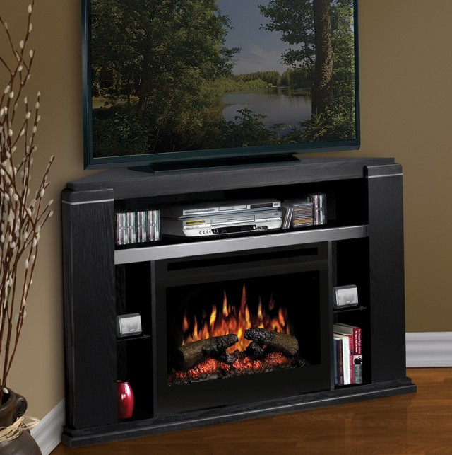 Corner Electric Fireplace Tv Stand