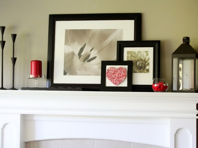 Decorating A Fireplace Mantel For Spring