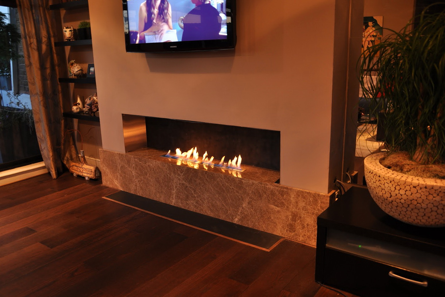 ventless fuel of fireplaces fireplace hearthcabinet the centerpiece home northforkrealestateshowcase gel com
