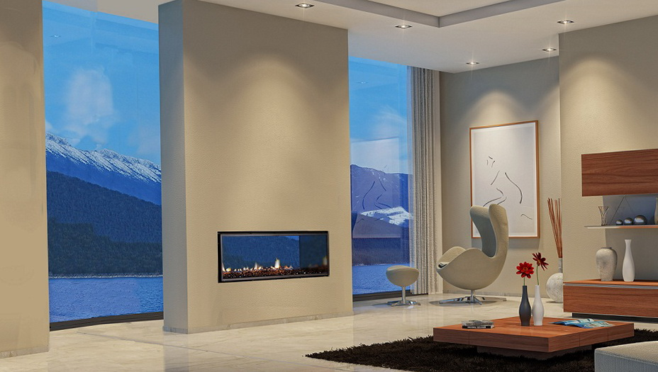 Double Sided Gas Fireplace Indoor Outdoor | Home Design Ideas