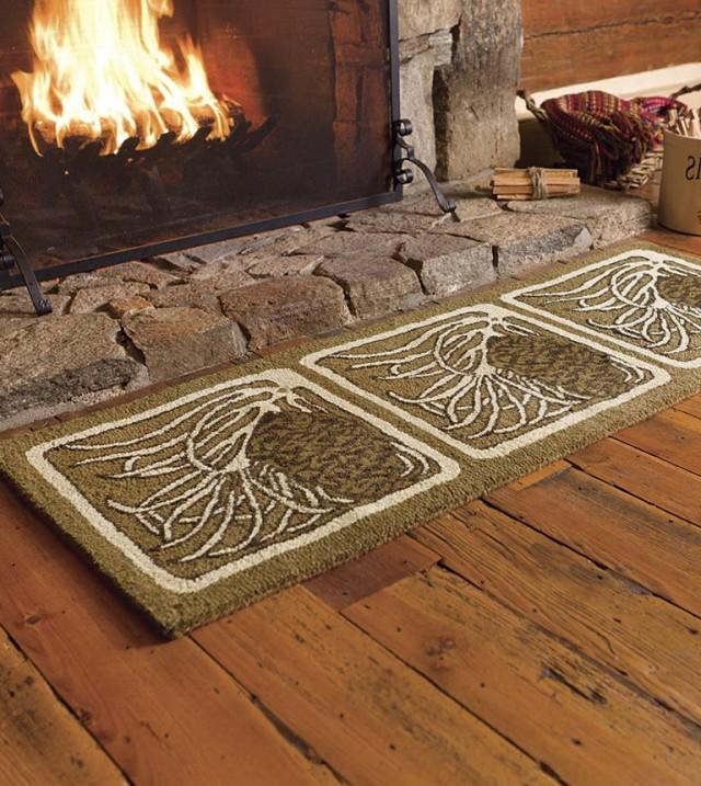 Fireplace Hearth Rugs Fireproof