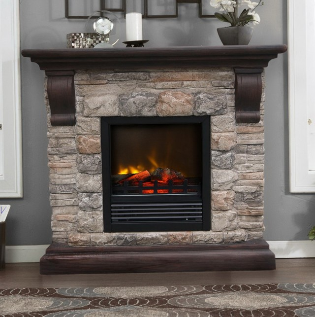 Lowes Electric Fireplace And Media Mantel Home Design Ideas