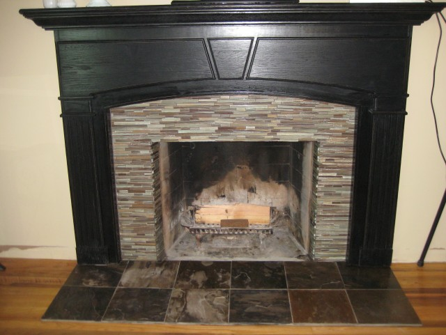 Fireplace Surround Tiles Ideas