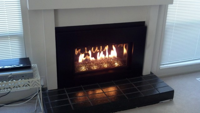 Gas Fireplace Inserts With Glass Rocks