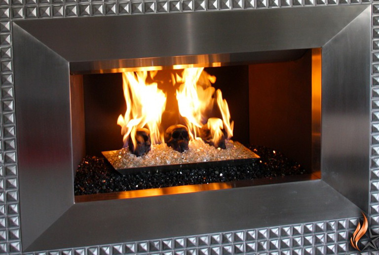 Glass Rock Fireplace Kits Home Design Ideas