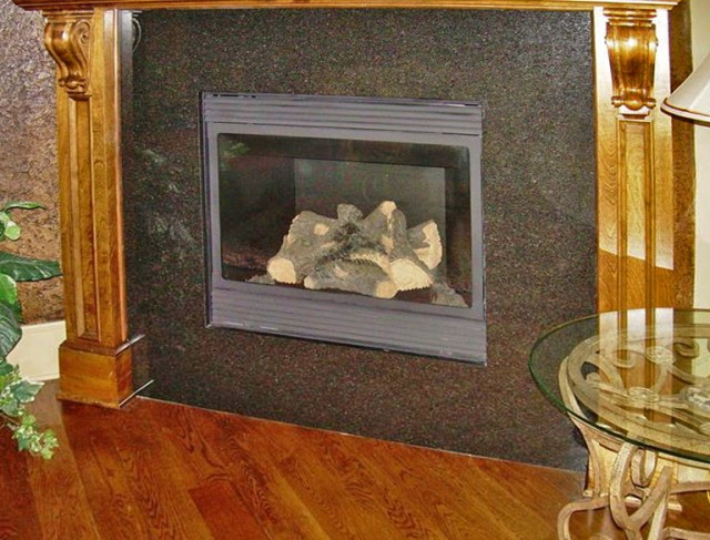 Interesting Granite For Fireplace Surround Ideas 100 Installing A Wood Stove In A Fireplace 11