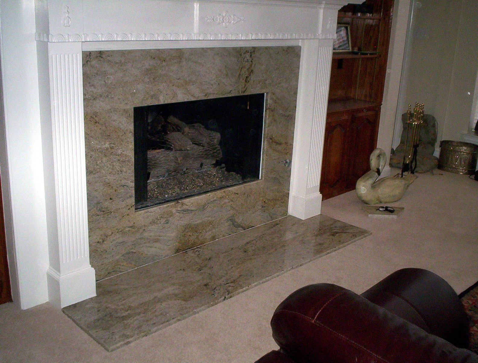 Granite Fireplace Surround Ideas | Home Design Ideas