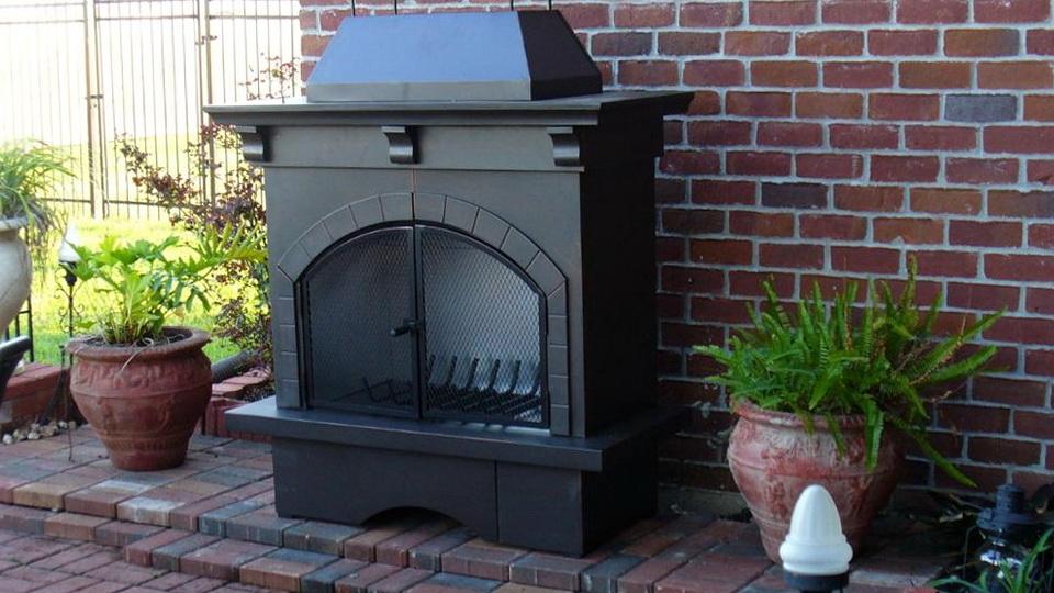 Beautiful Outdoor Metal Fireplaces Part 10 Metal Outdoor Fireplace Plans