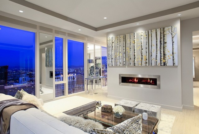 Realistic Looking Electric Fireplaces | Home Design Ideas