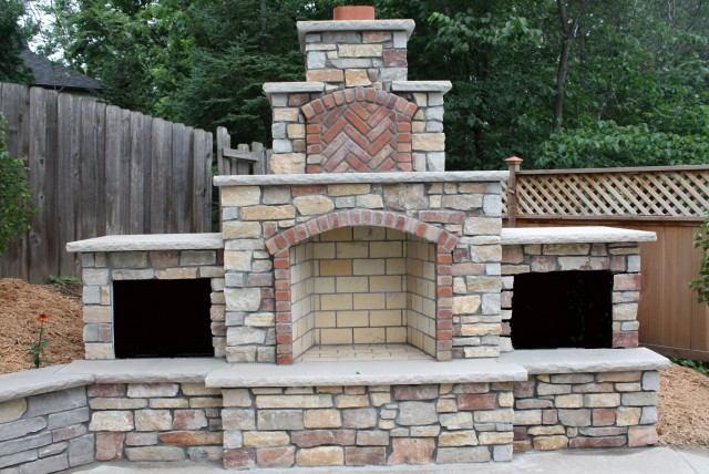Outdoor Fireplace Design Plans