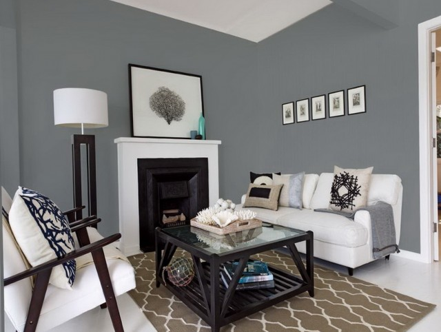 Paint Colors For Family Room With Fireplace