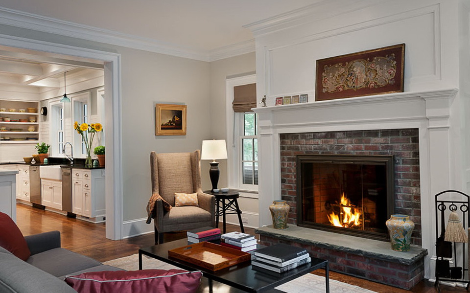 Living Room With Red Brick Fireplace paint colors for living room with red brick fireplace | home