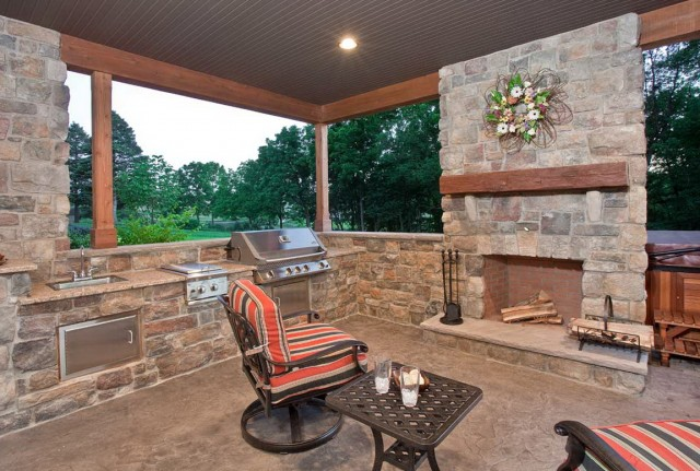 patio and fireplace ideas - Patio With Fireplace Ideas