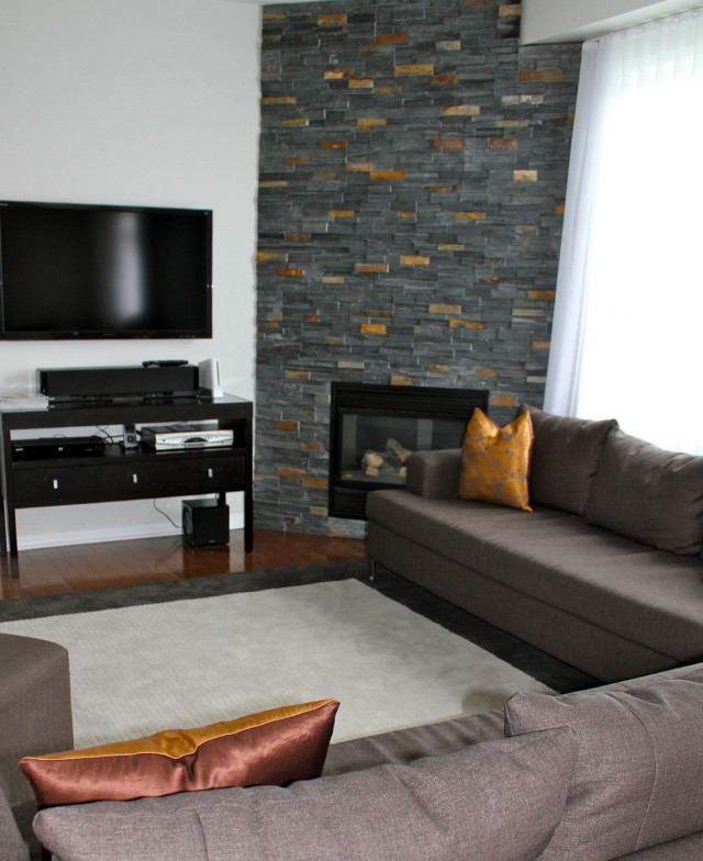 Pictures Of Corner Stone Fireplaces