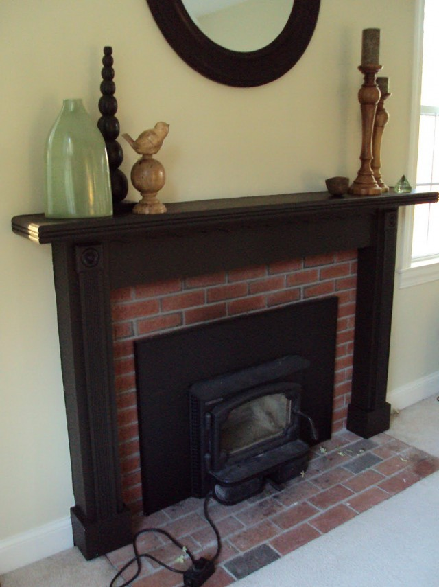 Pictures Of Painted Fireplace Mantels