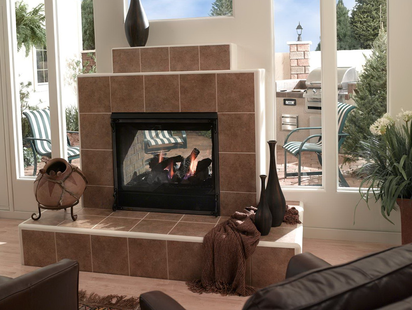 2 way fireplace 2way fireplace from fr to gr valor l1 2 sided