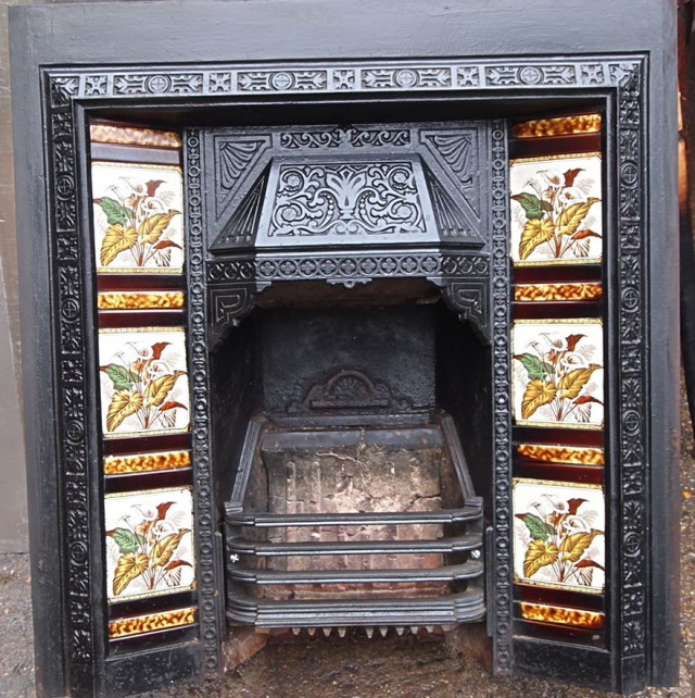 Victorian Fireplace Tiles For Sale | Home Design Ideas