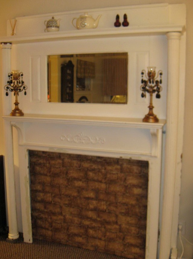 Vintage Fireplace Mantels For Sale