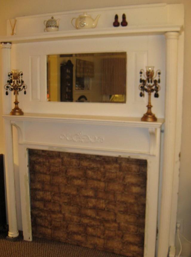 Vintage Fireplace Mantels For Sale