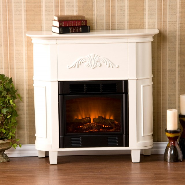 White Electric Fireplaces Clearance