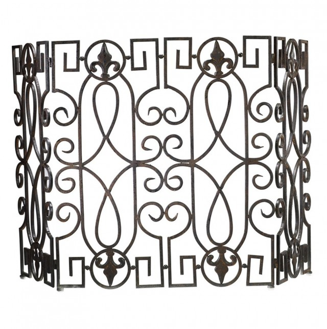 Wrought Iron Fireplace Screens Sale