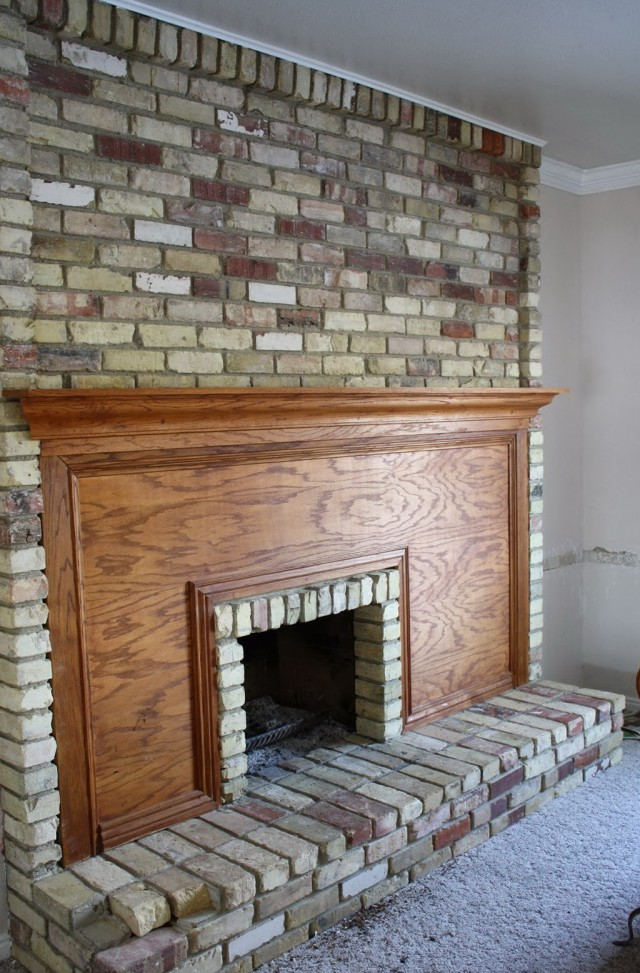 How To Clean Fireplace Brick | Home Design Ideas