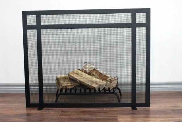 Custom Fireplace Doors Los Angeles Home Design Ideas