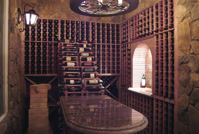 Custom Wine Cellar Racks
