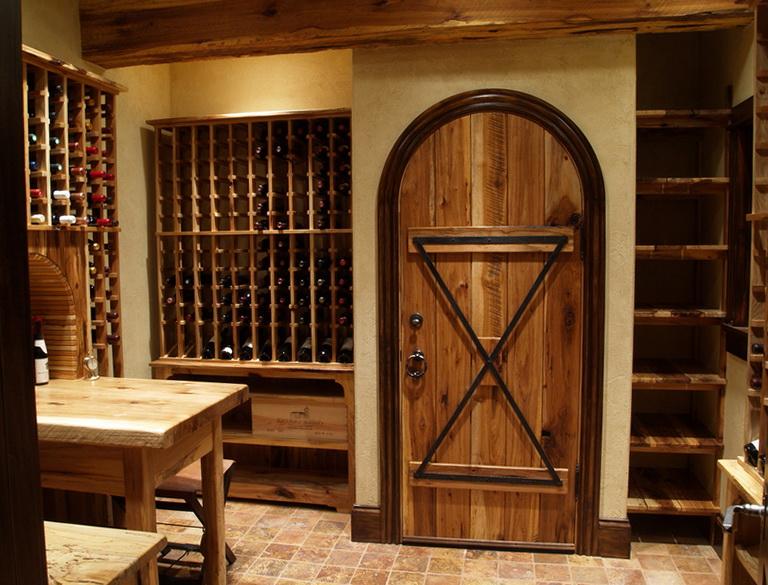 Diy Wine Cellar Door Home Design Ideas