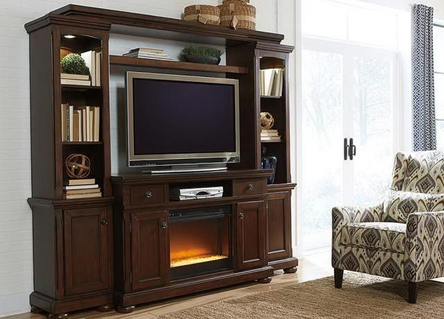 Gas Log Fireplace Entertainment Center Home Design Ideas