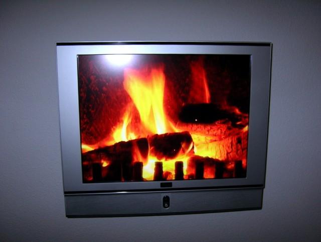 Fireplace Video Loop Download