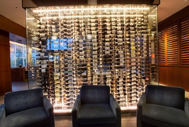 Glass Wine Cellar Wall