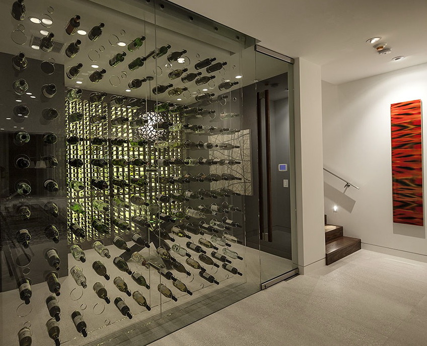 Permalink to Glass Wine Cellars Designs