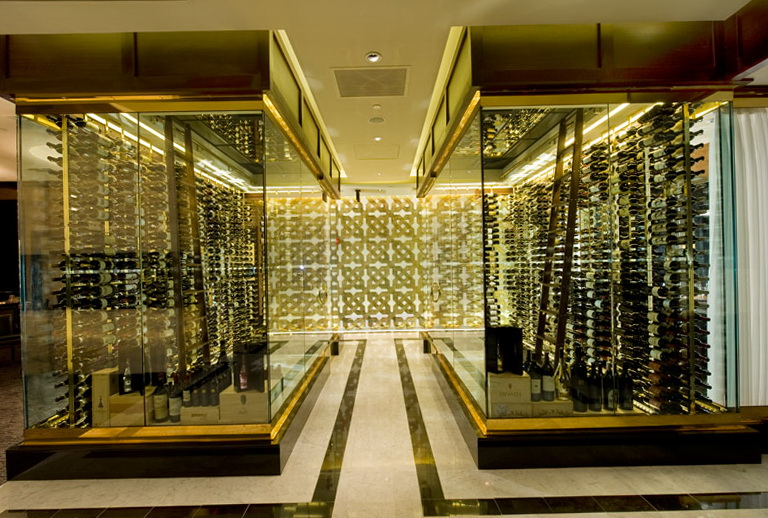 Permalink to Home Glass Wine Cellar